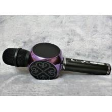 Беспроводной Bluetooth микрофон для караоке DM High Quality YS-63 Original  с мощными колонками и функцией изменения голоса Black